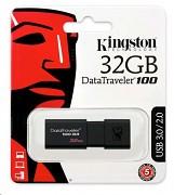 Kingston 32GB DataTraveler DT100 G3 (USB 3.0) paměť flash