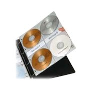 Obal na  8 CD/DVD do 4kr. pořadače CaseLogic CP10 10ks DOPRODEJ!!!