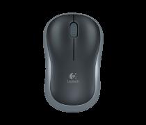 Myš PC Logitech M185 optická BEZDRÁTOVÁ černá