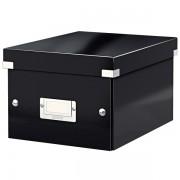 Malá archivační krabice Leitz Click & Store Černá