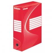 Archivační krabice Esselte 100 mm Červená