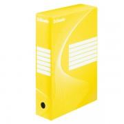 Archivační krabice Esselte 80 mm Žlutá