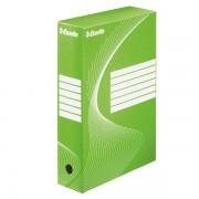 Archivační krabice Esselte 80 mm Zelená