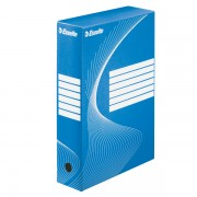Archivační krabice Esselte 80 mm Modrá