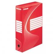 Archivační krabice Esselte 80 mm Červená