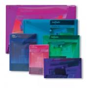 Kapsa s patentkou Snopake Electra 5ks A6 mix 5 barev