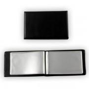 Vizitkář lepený Plastik 20 vizitek  A7 černý