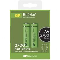 Baterie nabíjecí GP ReCyko+ AA 2700mAh NiMH 2ks