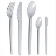 Vidlička plastová 100ks  17cm bílá