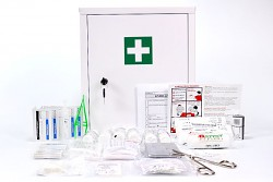 Lékarnička pro 10 osob plastový_box