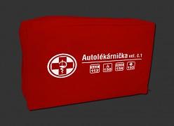 Lékárnička do auta textilní  - nová - DO 2023