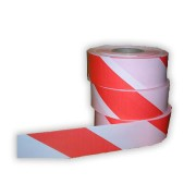 Páska bezpečnostní  8cm_x_500m červenobílá