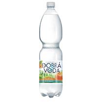 Dobrá voda 1,5L Mandarinka_neperlivá