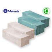 Ručníky papírové Z-Z Merida kvalita C 1-vrstvé zelené