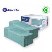 Ručníky papírové Z-Z Merida kvalita B 1-vrstvé zelené