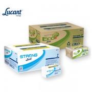Ručníky papírové Z-Z Lucart Strong 2-vrstvé bílé ( prodej po 18 kusech )