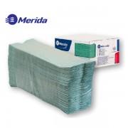 Ručníky papírové C-C Merida   1-vrstvé zelené