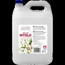 Tekuté mýdlo LAVON s glycerinem 5L bílé - sněženka