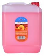 Tekuté mýdlo s glycerinem 5L růžové - broskev