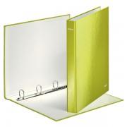 Kroužkový pořadač Leitz WOW 4DR průměru 25mm Metalická zelená DOPRODEJ!!!