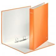 Kroužkový pořadač Leitz WOW 2DR průměru 25mm Metalická oranžová DOPRODEJ!!!