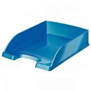Odkladač Leitz WOW Plus Metalická modrá