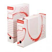 Archivační krabice Esselte 25ks + TESCO 100Kč hř.78mm bílá