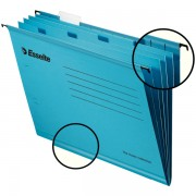 Zesílené třídicí závěsné desky Esselte Pendaflex® Modrá 10ks