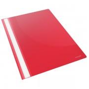 Desky s rychlovazačem čirá přední strana Červená