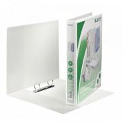Prezentační kroužkový pořadač Leitz SoftClick Bílá, 2 D-kr,25 mm