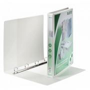 Prezentační kroužkový pořadač Leitz SoftClick Bílá, 4 D-kr, 20 mm