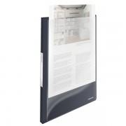 Katalogová kniha s přední kasou Esselte VIVIDA, 20 kapes VIVIDA Černá A4