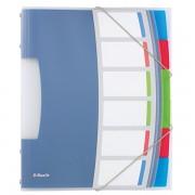 Třídicí desky Esselte VIVIDA, 6 částí Bílá A4