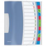 Třídicí desky Esselte VIVIDA, 12 částí Bílá  A4