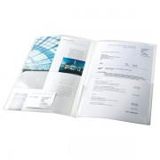 Desky s vnitřní chlopní Esselte Čirá (A4/A3)