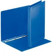Prezentační kroužkový pořadač Leitz SoftClick Modrý, 4 kulaté kr, 16 mm