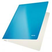 Desky s rychlovazačem Leitz WOW Metalická modrá