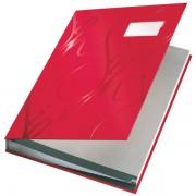 Designová podpisová kniha Leitz Červená