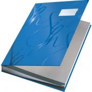 Designová podpisová kniha Leitz Modrá
