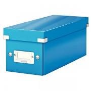 Krabice na CD Leitz Click & Store Metalická modrá