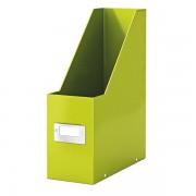 Stojan na časopisy Leitz Click & Store Metalická zelená DOPRODEJ!!!