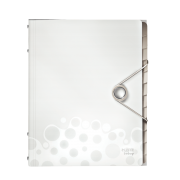 Třídicí kniha Leitz Bebop, 12 částí Bílá A4 kapacita 200 listů DOPRODEJ!