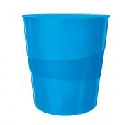 Odpadkový koš Leitz WOW Metalická modrá