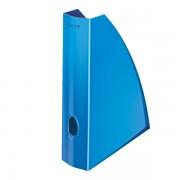Stojan na časopisy Leitz WOW Metalická modrá