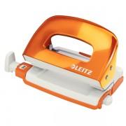 Mini děrovačka Leitz NeXXt WOW 5060 10 listů Metalická oranžová