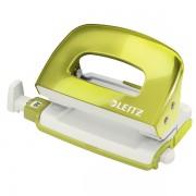 Mini děrovačka Leitz NeXXt WOW 5060 10 listů Metalická zelená