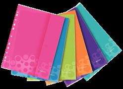 Závěsné kapsy s uzavíráním na suchý zip Leitz WOW A4 Mix barev 6ks