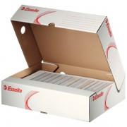 Horizontální archivační krabice Esselte 80 mm Bílá