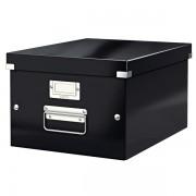 Střední archivační krabice Leitz Click & Store Černá