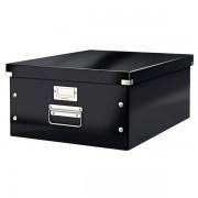 Velká archivační krabice Leitz Click & Store Černá